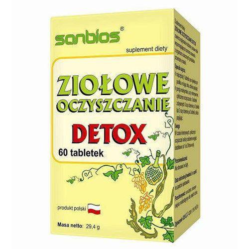Sanbios Ziołowe oczyszczanie detox x 60 tabletek