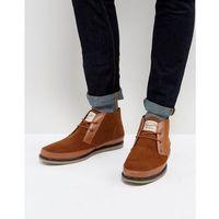 lodge desert boots in tan - tan marki Original penguin