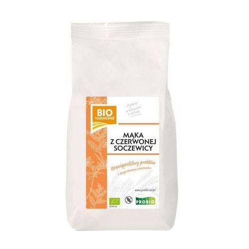 Mąka z czerwonej soczewicy bezglutenowa bio 450 g - bio harmonie marki Probio