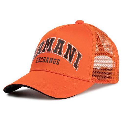 Czapka z daszkiem ARMANI EXCHANGE - 954047 0P344 13862 Orange Schocking
