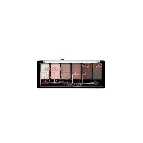 Catrice eyeshadow palette (w) paleta 6 cieni do powiek absolute matt 6g