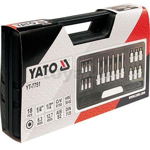 Yato Zestaw kluczy trzpieniowych torx 18 cz / yt-7751 / - zyskaj rabat 30 zł