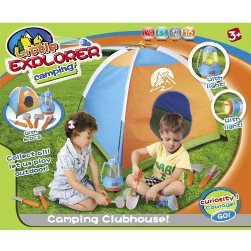 Kindersafe Namiot domek + narzędzia + latarka /008-80f