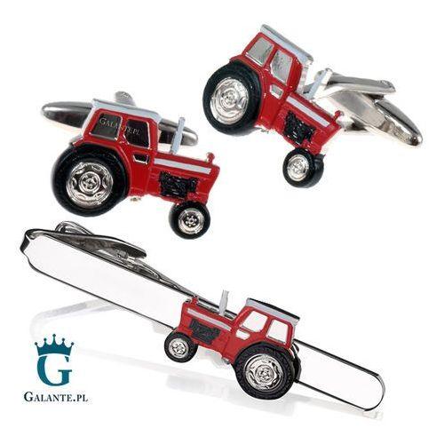 Komplet biżuterii Czerwony Traktor SDK-1366