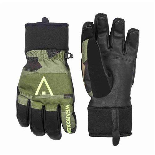 Rękawice - rider glove asymmteric grey (812) rozmiar: 7, Clwr