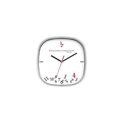 Atrix Zegar srebrny kwadrat stracony czas