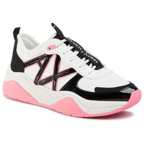Armani exchange Sneakersy - xdx039 xv311 b669 martini/black