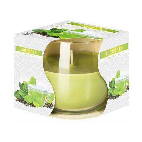 Bispol , świeca zapachowa w szkle, zielona herbata, 1 sztuka