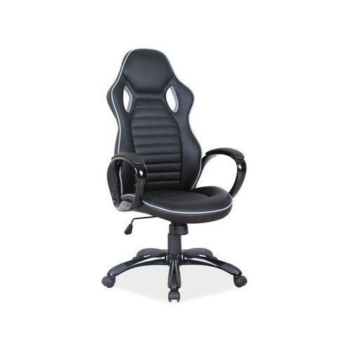 Fotel biurowy Signal Q-105 Czarny/szary, Signal