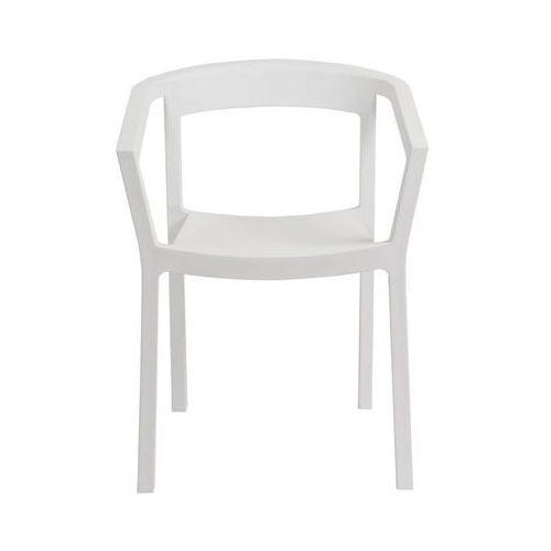 Krzesło Peach białe, kolor biały