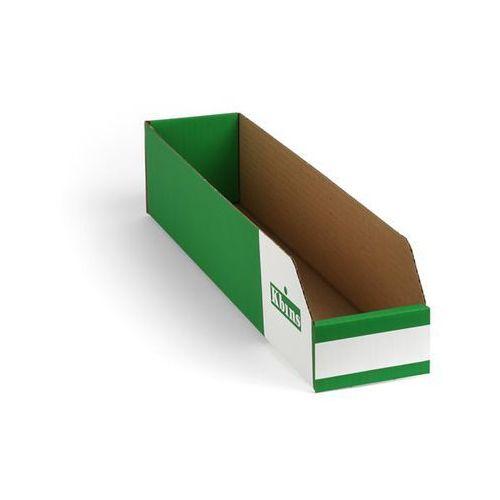 Skrzynki regałowe z kartonu, składane, opak. 150 szt., dł. x szer. x wys. 500x10
