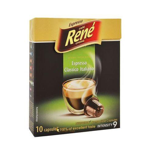 Rene Espresso Classico Italiano Nespresso 10 kapsułek (5902480010805)