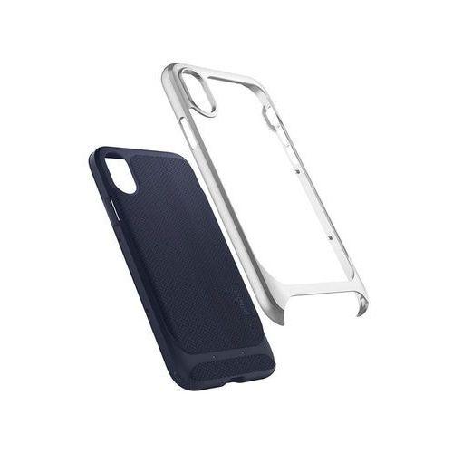 Spigen Etui neo hybrid do iphone x srebrny (8809565300646)