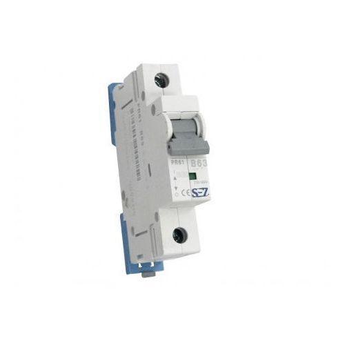 Pce B63a 1p 10ka wyłącznik nadprądowy bezpiecznik typ s eska pr61 sez 0159