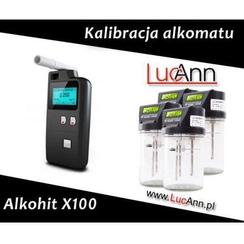 Alkohit Kalibracja alkomatu x100 + świadectwo kalibracji