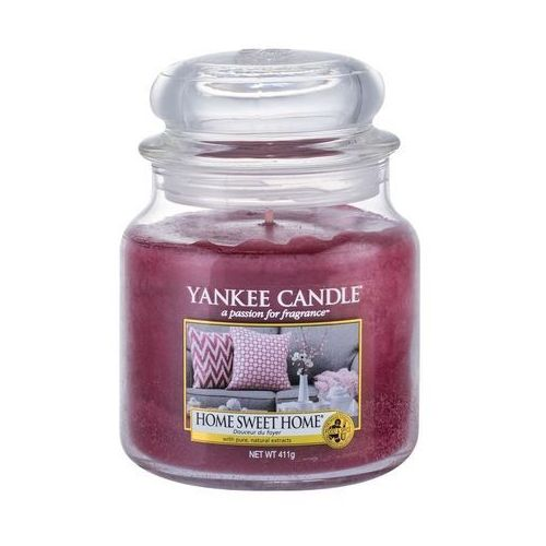 Świeca YANKEE słoik średni Home Sweet Home® - YSSHSH