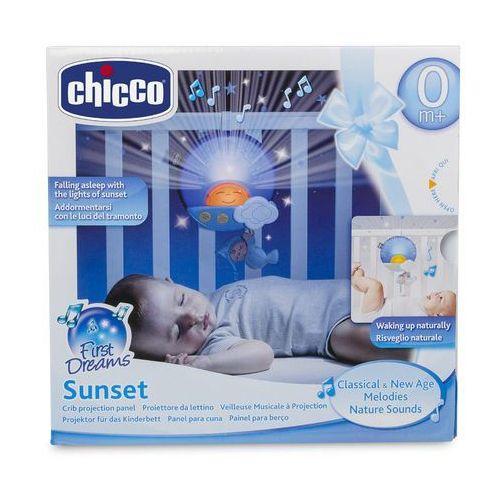chicco panel na łóżeczko sunset niebiesk marki Chicco