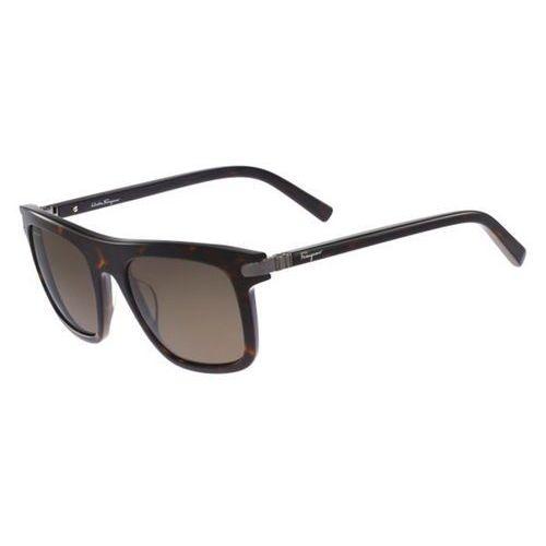 Okulary Słoneczne Salvatore Ferragamo SF 785SP Polarized 214
