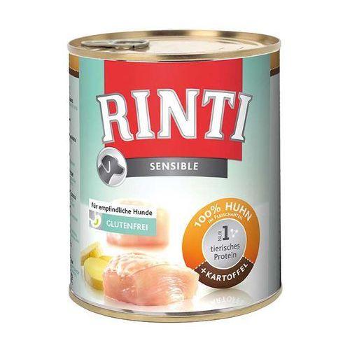 RINTI Sensible - kurczak i ziemniaki 800g