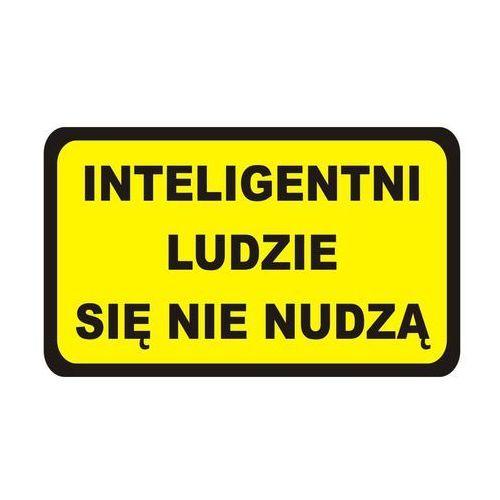 Splendid Naklejka inteligentni ludzie