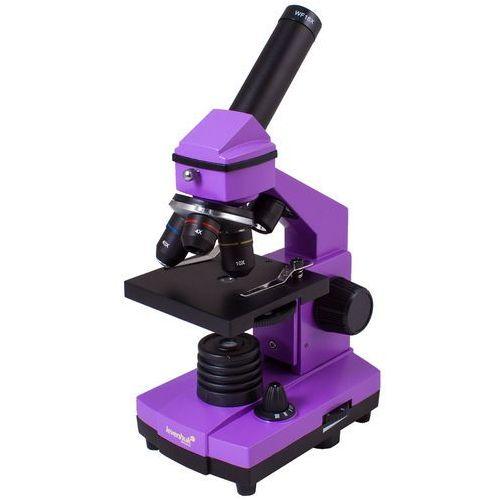 Levenhuk Mikroskop rainbow 2l plus fioletowy + zamów z dostawą jutro! + darmowy transport! (0611901506524)