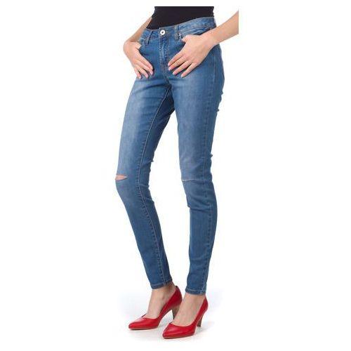 Brave Soul jeansy damskie Annadenr XS niebieski, jeans