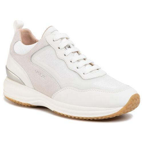 Sneakersy - d happy a d0262a 08514 c1352 white/off white marki Geox