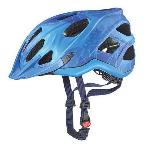Kask rowerowy uvex adige cc 2016 niebieski (4043197271484)