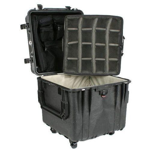 Peli 0340 z przegródkami - wodoodporna, pancerna skrzynia transportowa marki Pelican products, inc.