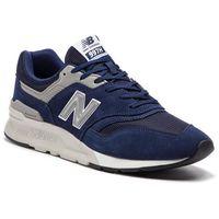 New balance Sneakersy - cm997hce granatowy