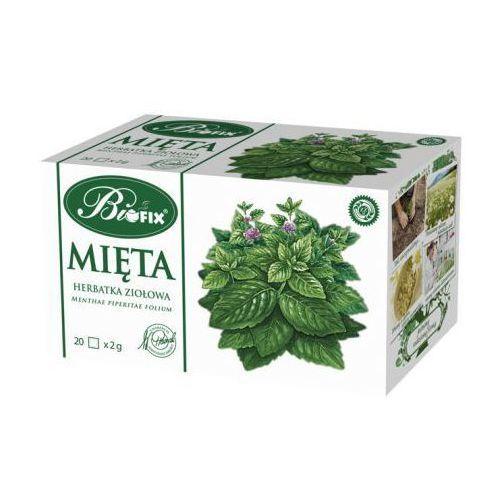 Herbata ziołowa mięta 40 g Bifix - sprawdź w wybranym sklepie
