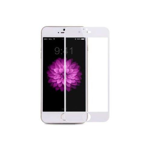 Apple iphone 6 - szkło hartowane kr+ pro - białe marki Benks