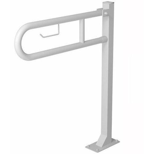Poręcz przysedesowa uchylna dla niepełnosprawnych Faneco S32UUWCW6P SW B 60 cm