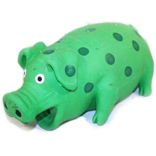Lateksowa zabawka świnka z realistycznym dźwiękiem dla psa marki Happypet