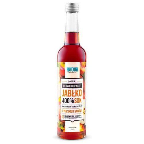 400% skoncentrowany sok jabłkowy 400ml marki Natjun