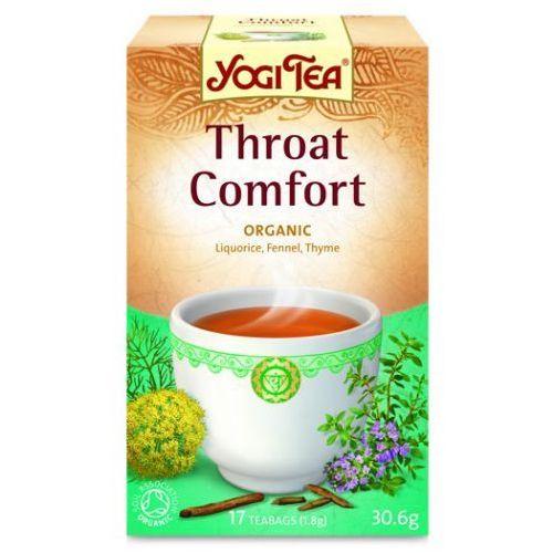 Herbata Na Gardło BIO (Yogi Tea) 17 saszetek po 1,8g