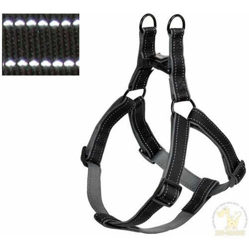 szelki reflect harness 30-40cm, 10mm - czarne marki Nobby