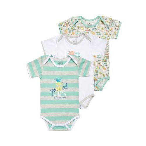 Gelati Kidswear GOOD VIBES 3 PACK Body multicolor, towar z kategorii: Body niemowlęce