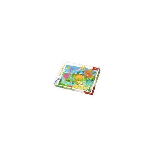 Puzzle 24 elementy maxi - w świecie dinozaurów - poznań, hiperszybka wysyłka od 5,99zł! marki Trefl