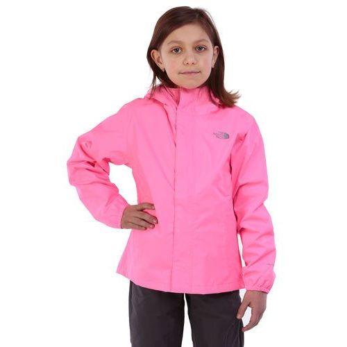 KURTKA GIRLS RESOLVE REFLECTIVE, kolor różowy - OKAZJE