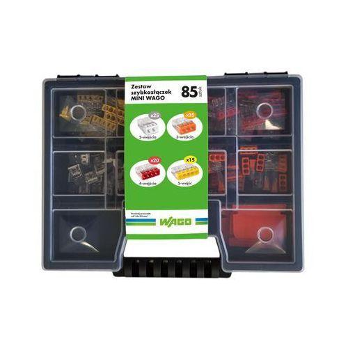 Wago Zestaw szybkozłączek mini mix 85 szt. 2273 wago (5902273880165)