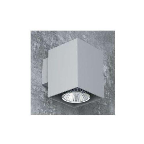 Cleoni Kinkiet lampa ścienna rotax t087b1kh+kolor kwadratowa oprawa downlight