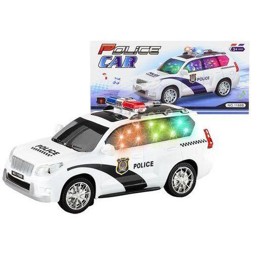 Auto policyjne police car policja światło dźwięk marki Supersam music