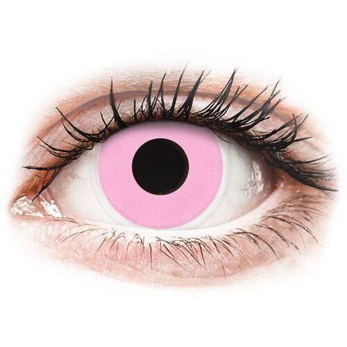 Maxvue vision Soczewki kolorowe różowe barbie pink crazy lens 2 szt.