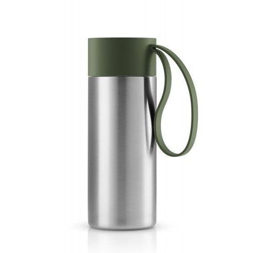 Kubek termiczny to go cup xl z zielonym uchwytem marki Eva solo