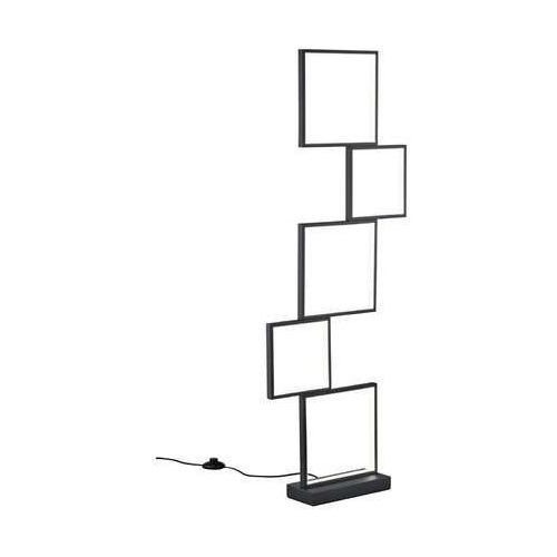 Trio Sorrento 427710532 lampa podłogowa stojąca 1x34W LED 3000K czarny mat (4017807442205)