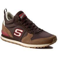 Sneakersy - bueller 52330/brct brown/chestnut, Skechers, 41.5-45.5