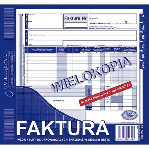 Faktura vat 2/3 a4 typ 102-2e (o+1k) marki Michalczyk i prokop