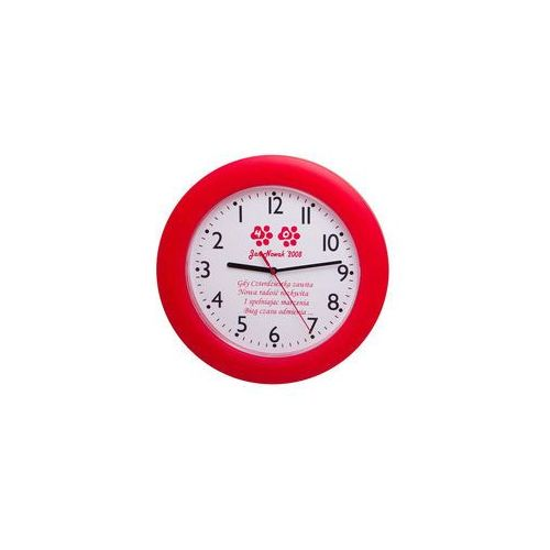 Anty-zegar LOGO plastik kolor, LAP#1