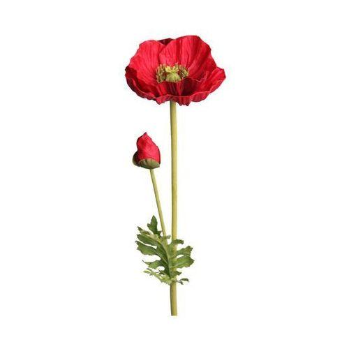 Mak sztuczny kwiat 72 cm marki Splendid